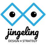 logo Jingeling Design x Strategy